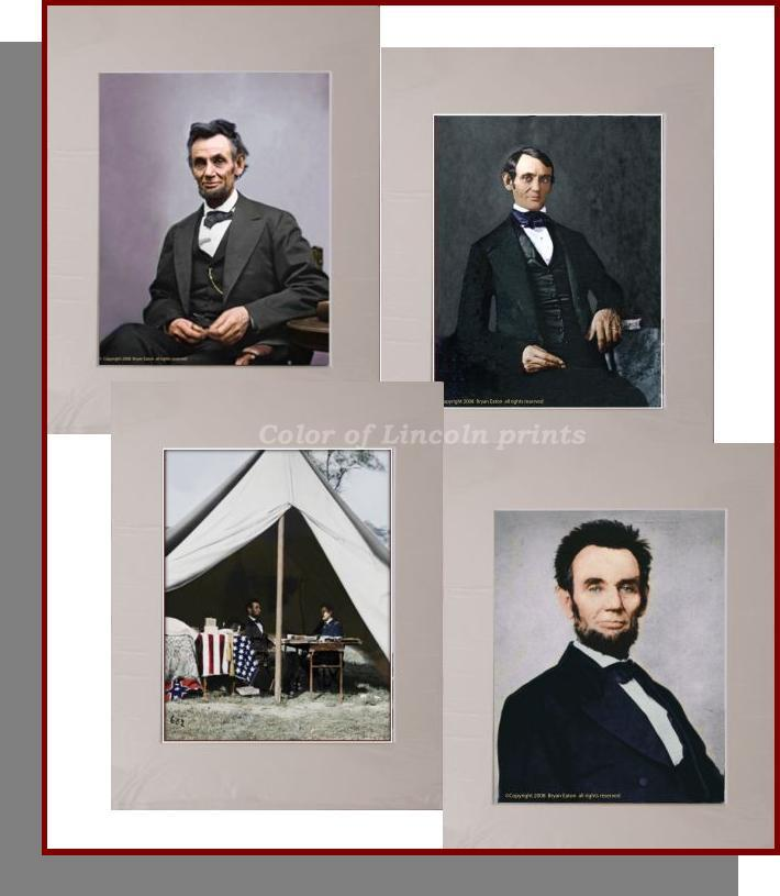 abraham lincoln print package