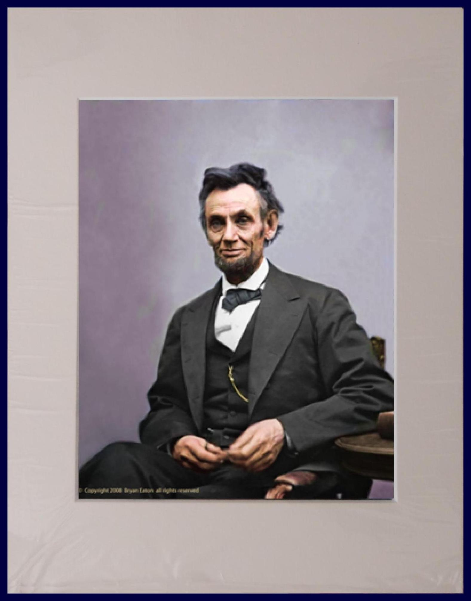 Abraham Lincoln Photos Color Www Imgkid Com The Image