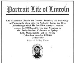 portrait life of abraham lincoln