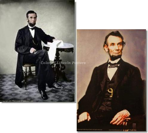 abraham lincoln poster package photography