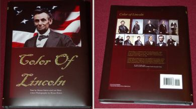 Color of Lincoln book unsigned
